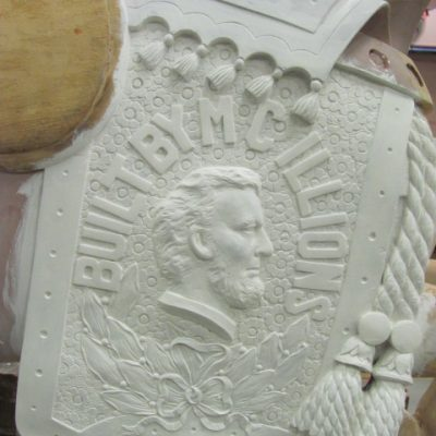 Illions Lincoln - Primer coat